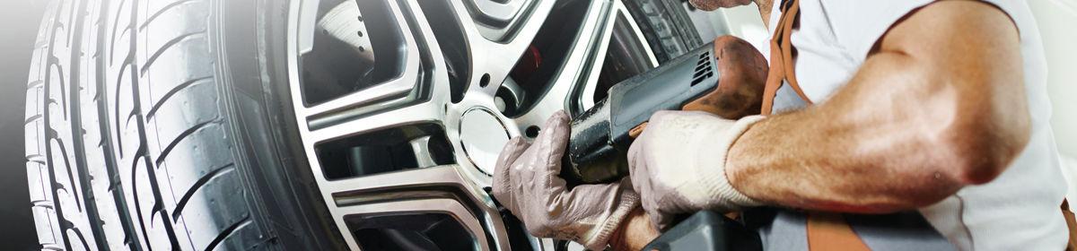 Der Reifen- und Radwechsel ist bei uns Routine